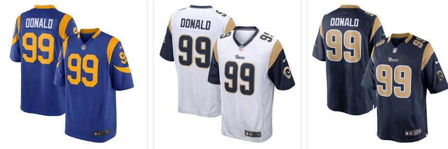 Wholesale Cheap Los Angeles Rams Jerseys & Uniforms Q&A Football  free shipping