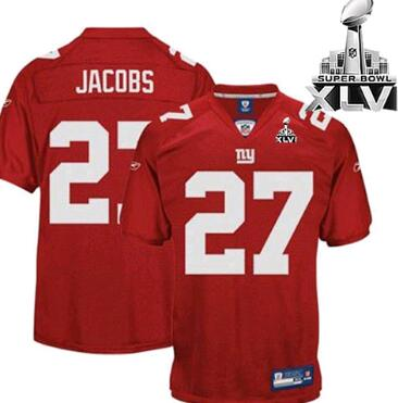 New York Giants super bowl XLVI jersey
